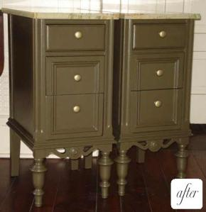 Green Nightstands